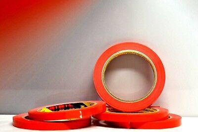 Gerade Linie 66 (5X 3M Zierlinienband Rot 9mm x 66M Geeignet für gerade saubere Linien 5560875)