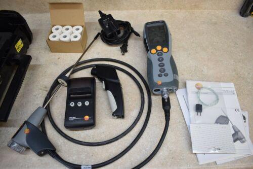 Testo 330-1 Advanced Combustion Analyzer, Flue Gas Analyzer W/ Probe/Printer/ IR