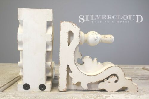 """Silvercloud Trading Co. SET/2 Architectural Corbels, Brackets, Bookends LRG 11"""""""