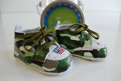 hoes Size 1 0-6 Months Camo Military Army Patriotic USA (Tootsie Schuhe)