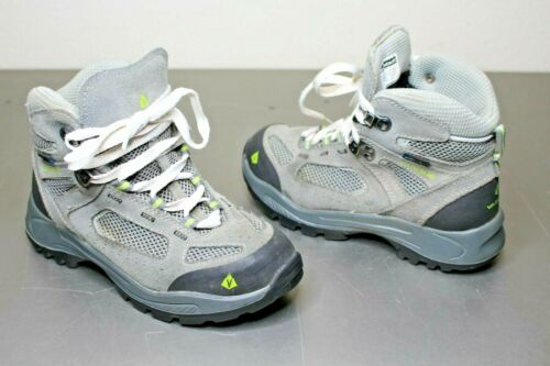 Vasque Breeze 2.0 Gray Leather Waterproof Hiking Boots Shoes Youth Size: 3 M dry
