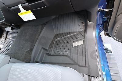 ::Chevrolet Silverado GM OEM Front All-Weather Floor Liners NEW in Black