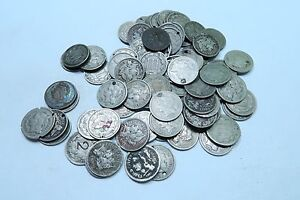 (2) Different 1865-1881 Three Cent Coin (3 Cent) Lot // 2 Coins // WITH DATES!
