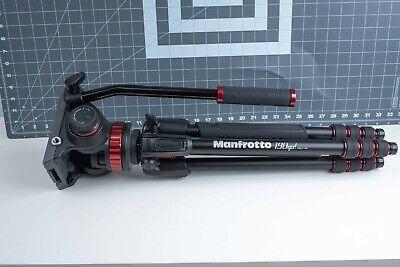Manfrotto 502HD MVH502A Pro Fluid Video Head & Manfrotto 190go! Aluminum Tripod