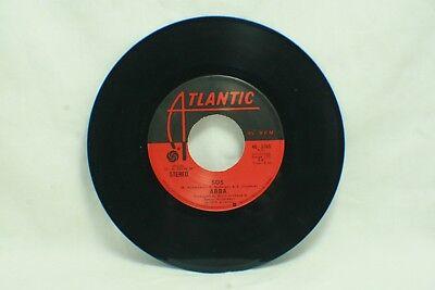 B10 ABBA - SOS / Man In The Middle - 1975 Atlantic Records 45 RPM Vinyl 45-3265