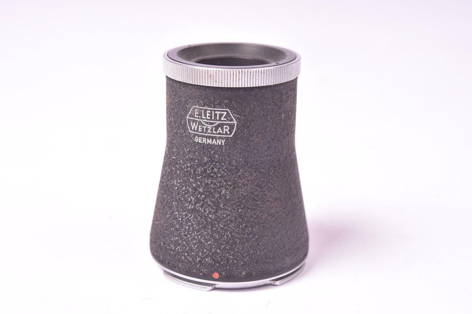 Accessorio Leitz Leica. Mirino ingranditore LVFOO per visoflex. Buone condizioni