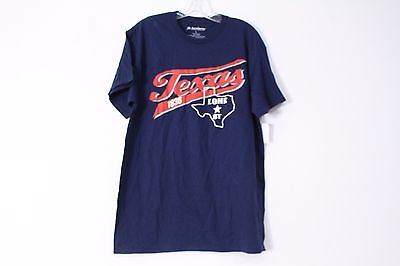 Academy Sports   Outdoors Texas Lone Star State Pride Tee Navy Size L New