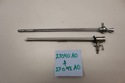 Karl Storz 27040 Ao Resectoscope Sheath With 27048 Ao Obturator