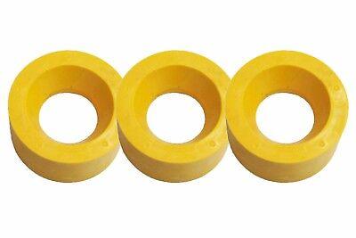 Power Feeder Rollers - Polyurethane 120x60mm - Set Of 3 Ru120 For 1hp Motors