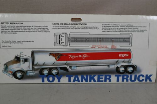 NEW Exxon Toy Tanker Truck - Rely on the Tiger - 15 Inches Long
