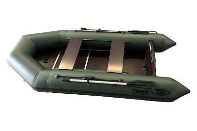 FISH300 grün Angelboot Sportboot Schlauchboot Paddelboot Ruderboot ZARmini Motor