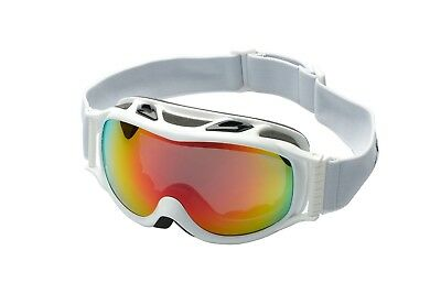 Ravs  Damen Skibrille Frauen Snowboardbrille Antibeschlag double glass  best fit