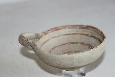 ANCIENT GREEK CORINTHIAN POTTERY WINE CUP DIPPER 5th CENTURY BC