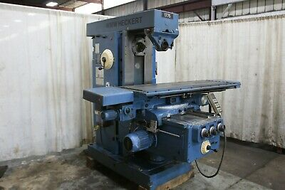 Heckert Model Fu450x1800 Horizontal Mill Yoder 71322