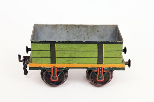 Vintage Marklin Gondola Freight Car 1 Ga Tinplate (2)