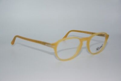 NEW PERSOL 3053-V-M 9010 YELLOW AUTHENTIC FRAMES RX EYEGLASSES 50-19
