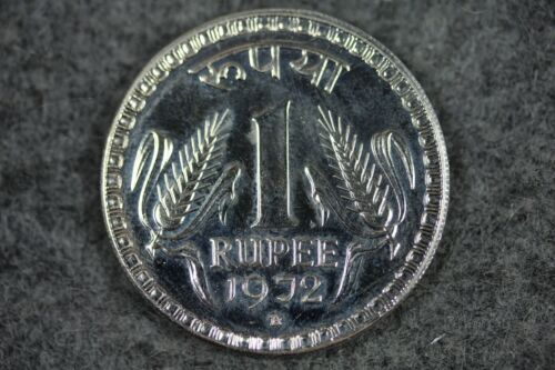 1972-B INDIA 1 RUPEE PROOF SILVER COIN #L00694