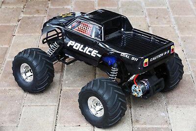 custom body police style for traxxas bigfoot