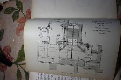 1906 Fachbericht Zeitschrift Bergbau / Berlepsch-Schacht Stassfurt
