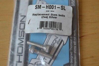 - Thomson Stem Bolts  SM-H001-SL   Silver   (2 bolts)