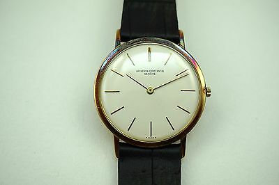 VACHERON CONSTANTIN 6115 THIN DRESS 18K 9 DOUZIEME C.1960'S ORIGINAL BUY NOW!!