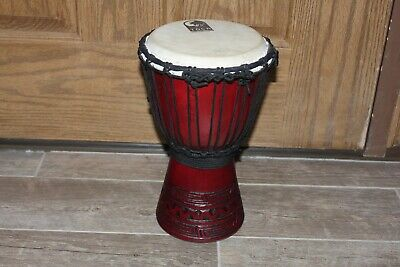 Vintage TOCA Hand Drum - Carved Rope African  for sale  Shipping to Nigeria