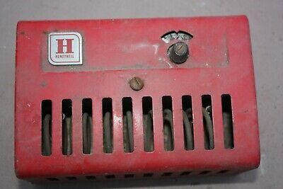 Vintage Red Honeywell Surface Aquastat Limit Control