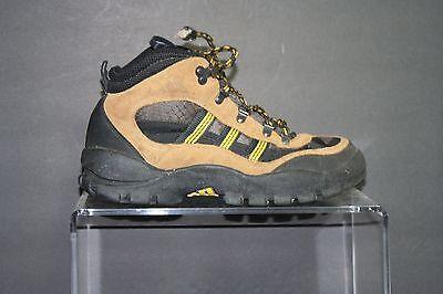 Adidas Vintage OG Hiking Boots 1999 Multi Black Brown Men 9 Trail Hip - Adidas Athletic Hiking Boots