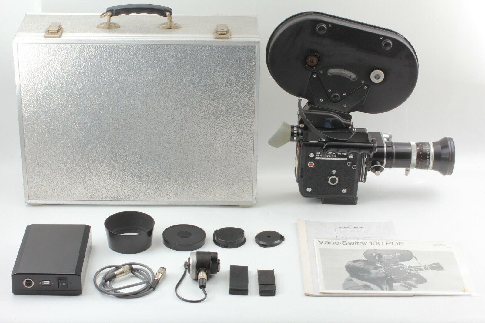 CLA'd July 2020 N.MINT Bolex H16 EBM Electric KERN 16-100mm f1.9 lens JAPAN