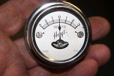Hoyt Model Type 531 Amp Gauge Vintage