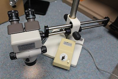 Nikon Smz-10a Microscope System Smz-u Uw10xa 24 Ed Plan 1.0x