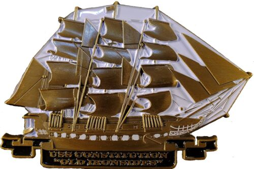 USS Constitution Navy challenge coin GOLD EDITION  117