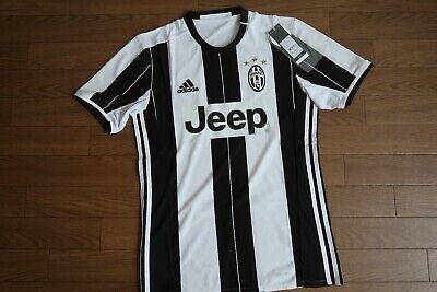 1d5f5a953a4 Juventus 100% Original Jersey Shirt 2016 2017 Home Kit S NEW  1913