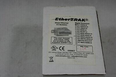 Red Lion Digitronics Sixnet Ethertrak Et-16di2-h Direct Ethernet Io Module