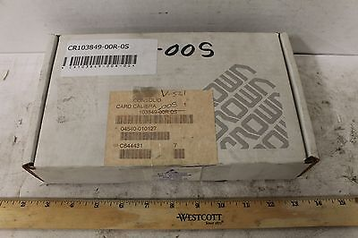 Oem Crown Card Calibration Reman 103849-00r-0s New Old Stock Forklift Parts