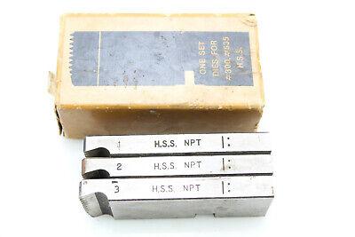 "9//16-24 Left Hand HSS TMX Round Adjustable Split Die 1-1//2/"" Outside Diameter"