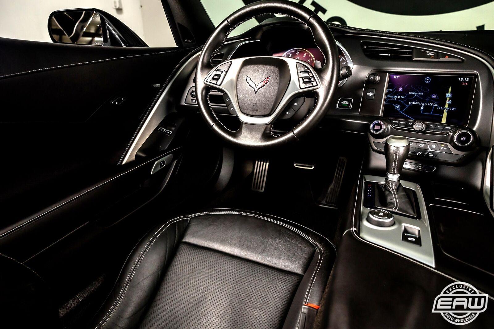 2014 White Chevrolet Corvette Coupe 1LT   C7 Corvette Photo 7