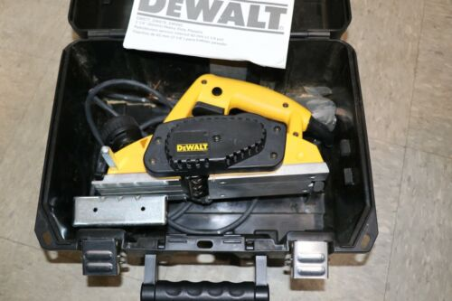 "DEWALT DW680K 3 1/4"" HEAVY DUTY PLANER TYPE 1 WITH CASE. (DZ)"