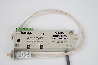 Adec Dental Intra-oral Light Source Fiber Optic A-dec Pn 90-0380-00