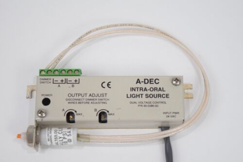 Adec Dental Intra-Oral Light Source Fiber Optic A-dec PN 90-0380-00