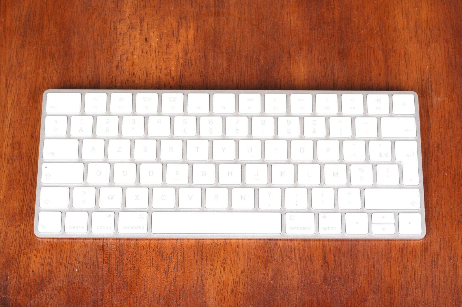 Apple Magic Keyboard 2 A1644 Wireless, Rechargable French AZERTY - $9.99