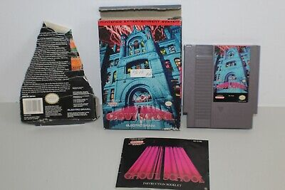 Ghoul School (Nintendo Entertainment System, 1992) NES Complete Boxed