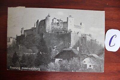 Postkarte Ansichtskarte Österreich Austria Festung Hohensalzburg