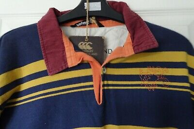 Canterbury played in heaven striped rugby shirt Large