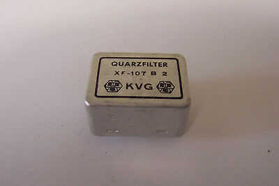 1 Stück KVG Quarzfilter  XF 107 B2