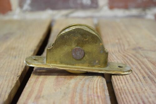 Vintage Cast Brass Window Sash Pulley
