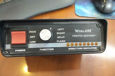 Whelen Tactl1a Traffic Advisor Arrowstick Controller Control Panel Switch