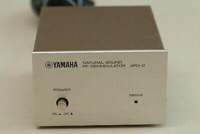 Yamaha APD-2 RF Demodulator LD AC3 to Dolby Digital