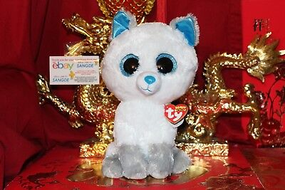"TY BEANIE BOOS FROST THE ARCTIC FOX.MEDIUM 9"".2017 RELEASE.MWNMT.NICE GIFT"