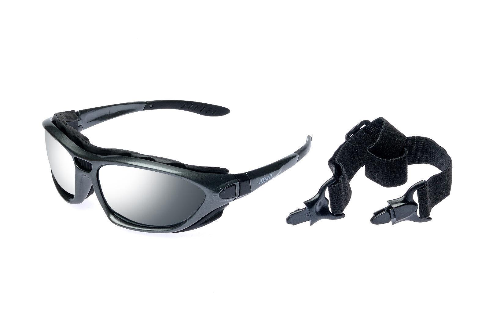 Sonnenbrille Wandern Trekking Sportbrille Skibrille mit seitlichem Blendeschutz Bekleidung Nordic Walking
